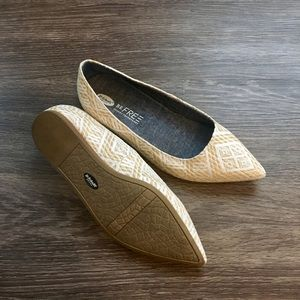 Dr. Scholl's Shoes - Dr. Scholl's Pointed toe woven straw flats 7